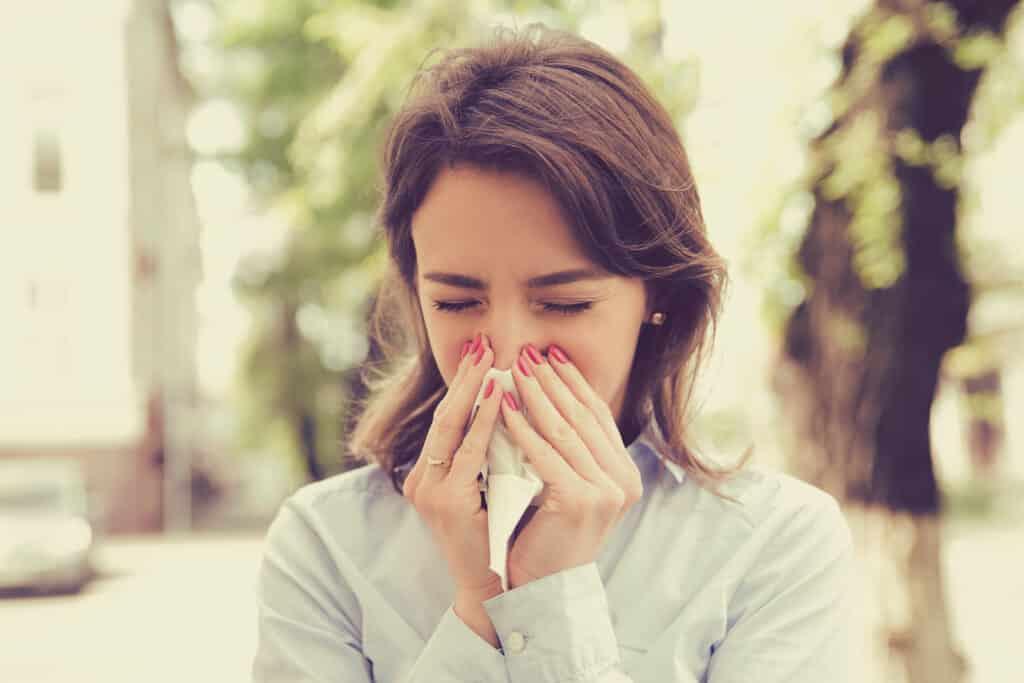 Сезонная аллергия - не повод сидеть дома